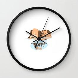Ruff Day! Wall Clock