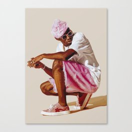 drawing of tyler the creator Canvas Print