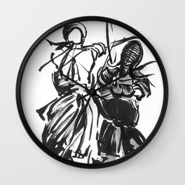 Be Brave. Wall Clock