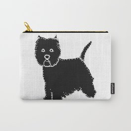 I have Connected the WESTIE Doggy Dots! Carry-All Pouch