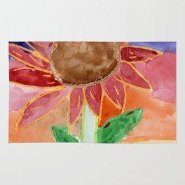Flower in the Sunset Rug