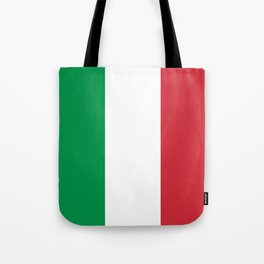 National Flag of Italy, High Quality Image Tote Bag