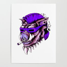 Beebop Don't Stop Poster