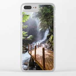 Fletcher Falls Two Clear iPhone Case