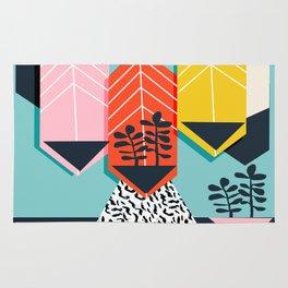 Legit - throwback 80s style memphis neon texture art print pop art dorm college hipster trendy urban Rug