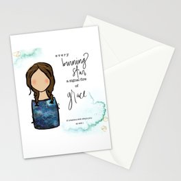 A Signal Fire of Grace Stationery Cards