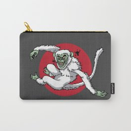 Ghost Monkey Carry-All Pouch