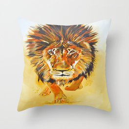 Relentless Pursuit Throw Pillow