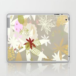 Lovely Lupins Seamless Repeating Pattern Laptop & iPad Skin