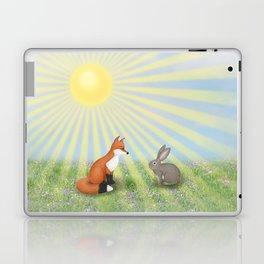 fox and bunny Laptop & iPad Skin