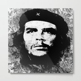 CHE GUEVARA (BLACK & WHITE VERSION) Metal Print