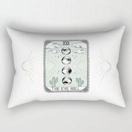 The Eye Roll Rectangular Pillow