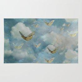 """Heaven & butterflies"" Rug"