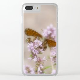 Butterfly – Nickerl's fritillary Clear iPhone Case