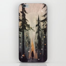 Come Find Me iPhone Skin