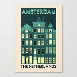 The Netherlands - Amsterdam Canvas Print