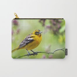 Spring Oriole Carry-All Pouch