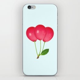 CHERRY BALLOONS iPhone Skin