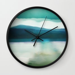 Waters Edge Wall Clock