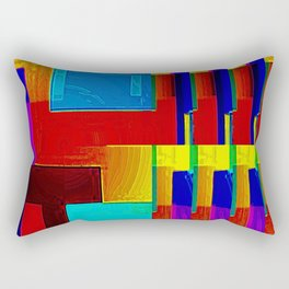 Don't Fret Rectangular Pillow
