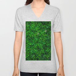 Don't leaf me Unisex V-Neck