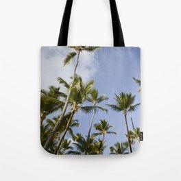 Palmy Blue. Tote Bag