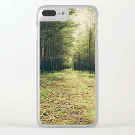 Forest Path... Clear iPhone Case