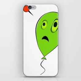 Threatened Balloon iPhone Skin