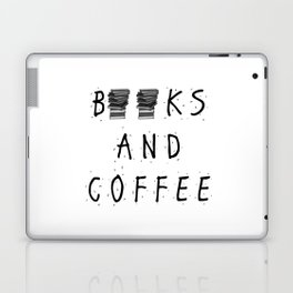 Books and Coffee! Laptop & iPad Skin