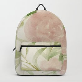 Blush Roses Watercolor No. 2 Backpack