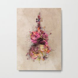 Double bass Metal Print