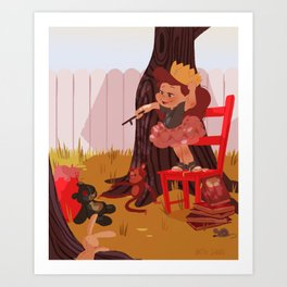 Knighthood Art Print