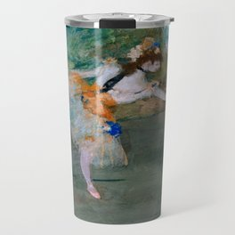"Edgar Degas ""Dancer on stage"" Travel Mug"