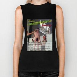 "NakedSlave4Art.com ""Are You Fabulously Wealthy?"" Magazine Ad Reprint Biker Tank"