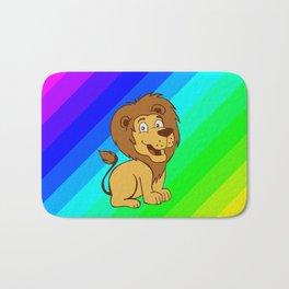 baby toon lion Bath Mat