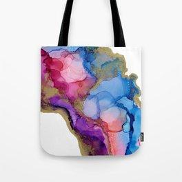 Golden River Flow Tote Bag