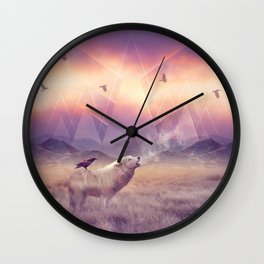 In Search of Solace Wall Clock