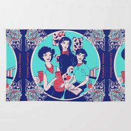 Women Artists (Creative Outlaws) Rug