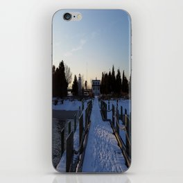 Ocean Snow iPhone Skin