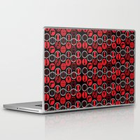black widow Laptop & iPad Skins featuring Black Widow  by Page394