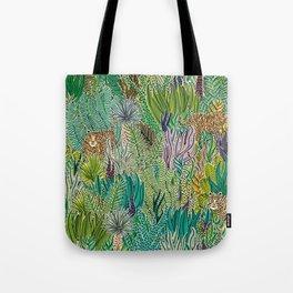 Jungle Tigers by Veronique de Jong Tote Bag