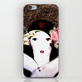 art deco dolly,,,house of harlequin iPhone Skin