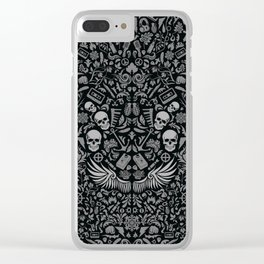 Old School - RK Clear iPhone Case