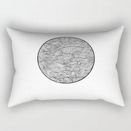 Caught Inside III Rectangular Pillow