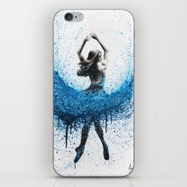 Clair De Lune Ballerina iPhone Skin