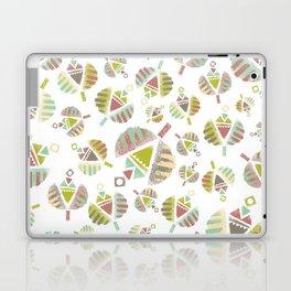Abstract Retro Flowers Laptop & iPad Skin
