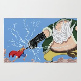 Luffy vs Don Chinjao Rug