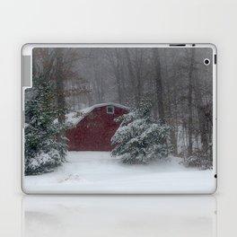 Red Barn in the Snow 2013 Laptop & iPad Skin