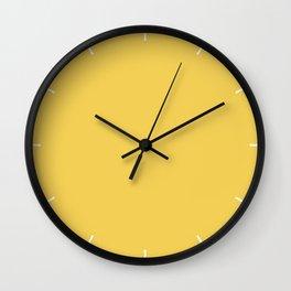 Primrose Yellow   Pantone Fashion Color Spring : Summer 2017   Solid Color Wall Clock