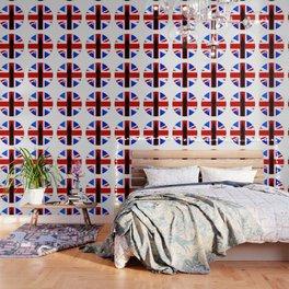 Union Jack Button Wallpaper